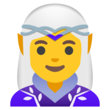 Woman Elf on Google Android 11.0
