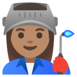 Woman Factory Worker: Medium Skin Tone on Google Android 11.0