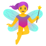 Woman Fairy on Google Android 11.0