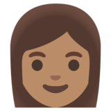 Woman: Medium Skin Tone on Google Android 11.0