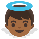 Baby Angel: Medium-Dark Skin Tone on Google Android 11.0 December 2020 Feature Drop