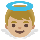Baby Angel: Medium-Light Skin Tone on Google Android 11.0 December 2020 Feature Drop