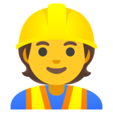 Construction Worker on Google Android 11.0 December 2020 Feature Drop