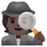 Detective: Dark Skin Tone on Google Android 11.0 December 2020 Feature Drop
