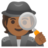 Detective: Medium-Dark Skin Tone on Google Android 11.0 December 2020 Feature Drop