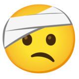 Face with Head-Bandage on Google Android 11.0 December 2020 Feature Drop