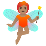 Fairy: Medium Skin Tone on Google Android 11.0 December 2020 Feature Drop