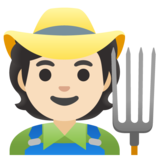 Farmer: Light Skin Tone on Google Android 11.0 December 2020 Feature Drop