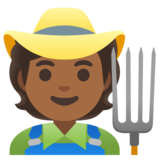 Farmer: Medium-Dark Skin Tone on Google Android 11.0 December 2020 Feature Drop