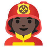 Firefighter: Dark Skin Tone on Google Android 11.0 December 2020 Feature Drop