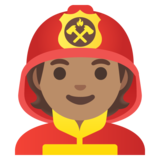 Firefighter: Medium Skin Tone on Google Android 11.0 December 2020 Feature Drop