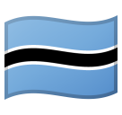 Flag: Botswana on Google Android 11.0 December 2020 Feature Drop