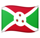 Flag: Burundi on Google Android 11.0 December 2020 Feature Drop