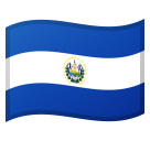 Flag: El Salvador on Google Android 11.0 December 2020 Feature Drop