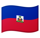 Flag: Haiti on Google Android 11.0 December 2020 Feature Drop