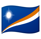 Flag: Marshall Islands on Google Android 11.0 December 2020 Feature Drop