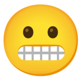 Grimacing Face on Google Android 11.0 December 2020 Feature Drop