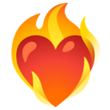 Heart on Fire on Google Android 11.0 December 2020 Feature Drop