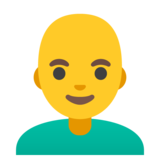 Man: Bald on Google Android 11.0 December 2020 Feature Drop