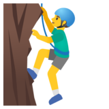 Man Climbing on Google Android 11.0 December 2020 Feature Drop