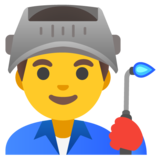 Man Factory Worker on Google Android 11.0 December 2020 Feature Drop