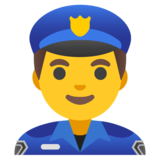 Man Police Officer on Google Android 11.0 December 2020 Feature Drop
