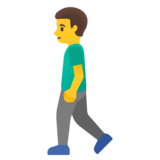 Man Walking on Google Android 11.0 December 2020 Feature Drop