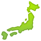 Map of Japan on Google Android 11.0 December 2020 Feature Drop
