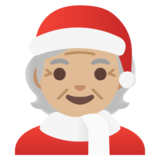 Mx Claus: Medium-Light Skin Tone on Google Android 11.0 December 2020 Feature Drop