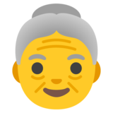 Old Woman on Google Android 11.0 December 2020 Feature Drop
