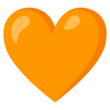 Orange Heart on Google Android 11.0 December 2020 Feature Drop