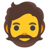 Person: Beard on Google Android 11.0 December 2020 Feature Drop