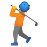 Person Golfing on Google Android 11.0 December 2020 Feature Drop