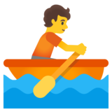 Person Rowing Boat on Google Android 11.0 December 2020 Feature Drop