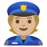 Police Officer: Medium-Light Skin Tone on Google Android 11.0 December 2020 Feature Drop