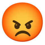 Pouting Face on Google Android 11.0 December 2020 Feature Drop