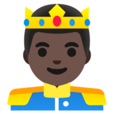 Prince: Dark Skin Tone on Google Android 11.0 December 2020 Feature Drop