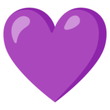 Purple Heart on Google Android 11.0 December 2020 Feature Drop