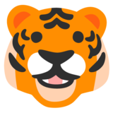 Tiger Face on Google Android 11.0 December 2020 Feature Drop