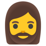Woman: Beard on Google Android 11.0 December 2020 Feature Drop