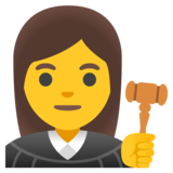 Woman Judge on Google Android 11.0 December 2020 Feature Drop