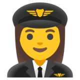 Woman Pilot on Google Android 11.0 December 2020 Feature Drop