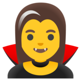 Woman Vampire on Google Android 11.0 December 2020 Feature Drop