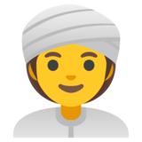 Woman Wearing Turban on Google Android 11.0 December 2020 Feature Drop