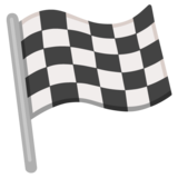 Chequered Flag on Google Android 12.0