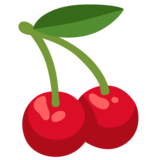Cherries on Google Android 12.0