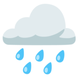 Cloud with Rain on Google Android 12.0