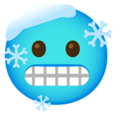 Cold Face on Google Android 12.0