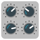 Control Knobs on Google Android 12.0