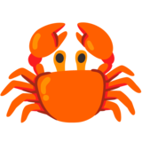 Crab on Google Android 12.0